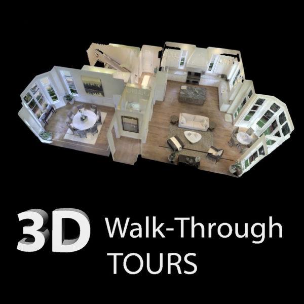 3D Matteport Walk-Through Tours